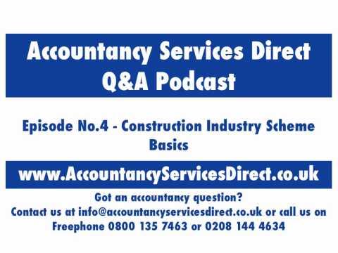Accountancy Services Ep4:Construction Industry Scheme Basics