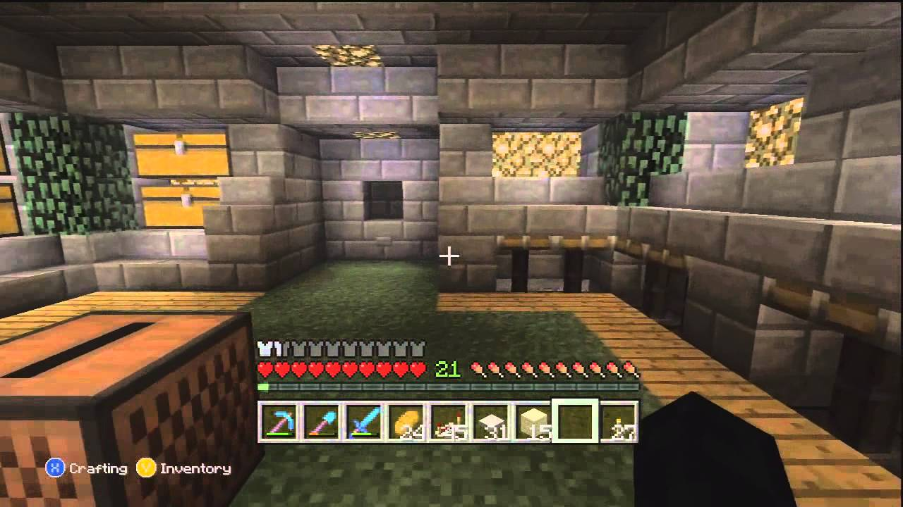 Minecraft Lp Episode 16 Underground Storage Room Wiring