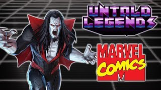 Marvel Comics Lore: The Origins of Morbius the Living Vampire - Untold Legends