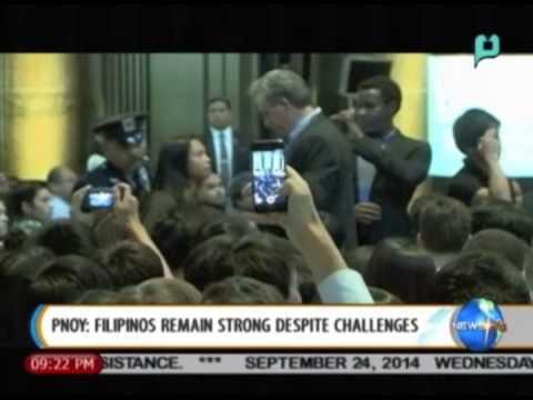President Aquino: Filipinos remain strong despite challenges    Sept