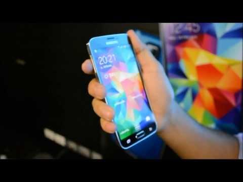 สัมผัสแรกตัวเครื่อง Samsung Galaxy S5