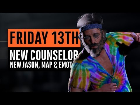 Friday the 13th | New Counselor, New Jason, New Map, New Emotes