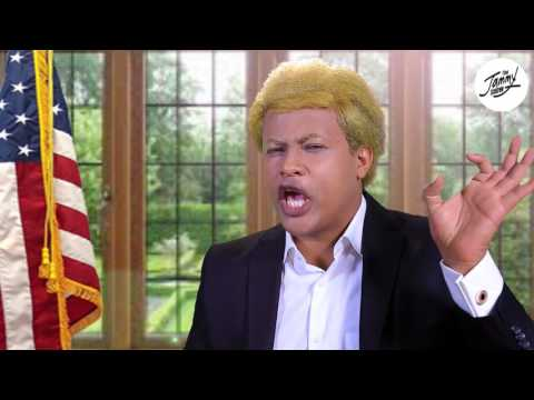 Donald Trump's foreign policy towards Africa - by Ethiopian comedian