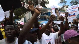 VIDEO: Haiti Elections 2015 - Maryse Narcisse Vizite Moun Kenscoff