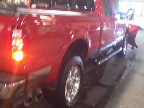 strobe lighting on new f350 plow truck youtube. Black Bedroom Furniture Sets. Home Design Ideas