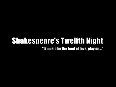 Folger Theatre's Twelfth Night video