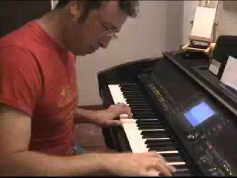 Smooth Jazz piano Clavinova cvp 405 improvisation