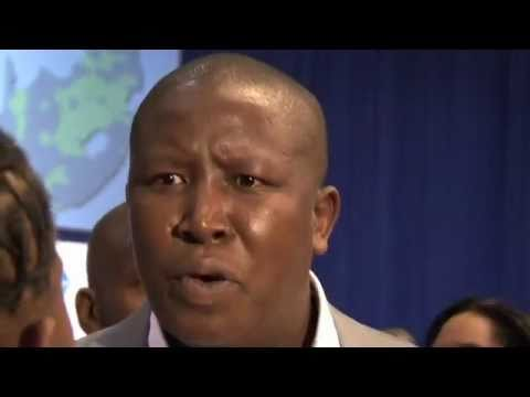 Am not debating with a tea girl: Julius Malema