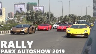 Parx Auto Show 2019 | Supercar & Vintage rally in Mumbai | India