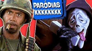 7 PARÓDIAS BIZARRAS DE FILMES FAMOSOS!