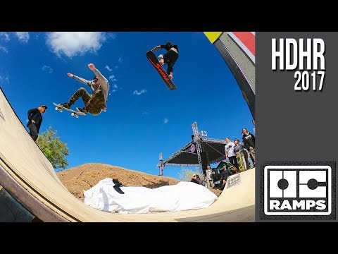 Snowboarding over a Mini Ramp -- Hot Dawgz & Hand Rails
