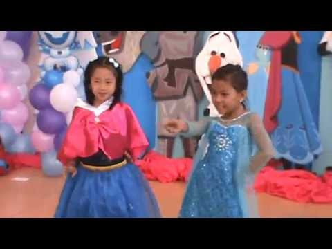 Lyca And Mika Dancing Hoopskiri video