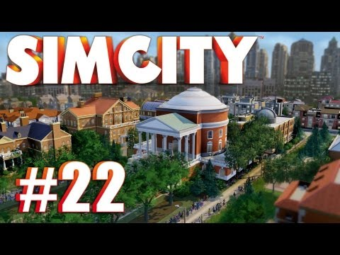 Let's Multiplay SimCity (2013) - Ep. 22 GAMBLING HQ & PHILANTHROPY