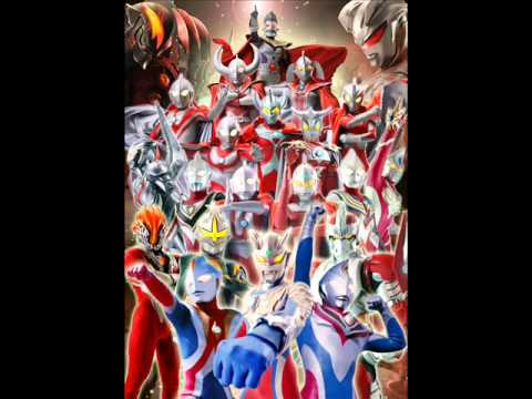Ultraman Retsuden Opening Full video