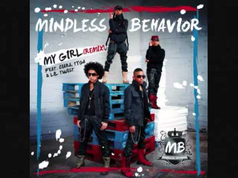 Mindless Behavior - My Girl (remix) Feat. Ciara Chopped & Screwed.wmv video