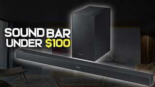 Best Soundbars 2019 Under $100 - Affordable TV Sound Bar Reviews