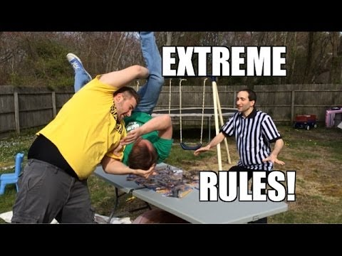 grim 39 s toy show ep 831 extreme rules backyard hardcore match wwe