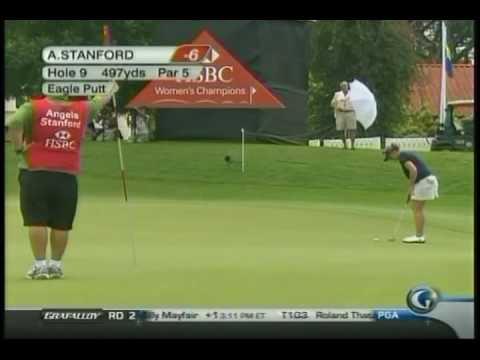 Angela Stanford - 2010 HSBC Women's Champions Video