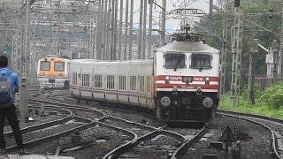 Spanish High Speed Talgo Train In Mumbai.!!! New Delhi-Mumbai Central First trial Run.
