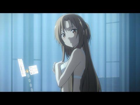 Sword Art Online - Asuna and Kirito sleepover