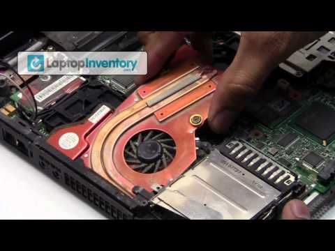 IBM Lenovo Laptop Repair Fix Disassembly Tutorial   Notebook Take Apart. Remove & Install T42