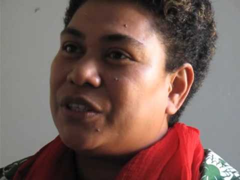 Pacific Island activist in New York