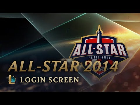 Allstar Paris 2014 - Login Screen