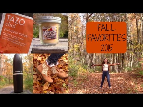 Fall Favorites 2015! | Fashion, Food, Drinks, + More!