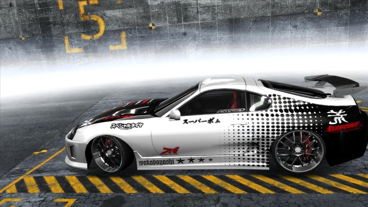 Guys Working On Cars >> Need For Speed Pro Street - Toyota Supra Japanese Style - YouTube