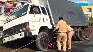 Xe tải tuột dốc, em nhỏ tử vong, 3 người bị thương ở Bạc Liêu
