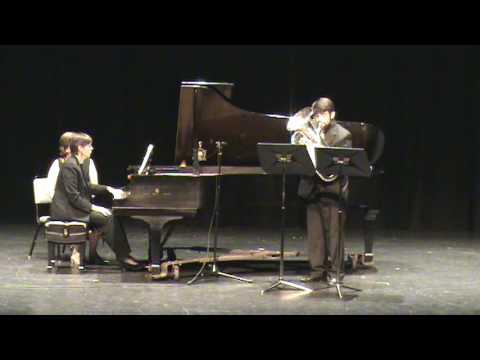 Gaines: Euphonium Concerto -  1. Misterioso - 1 of 4