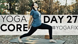 More Core! Vinyasa Flow Day 27 With Fightmaster Yoga