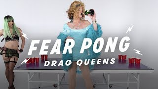 "Drag Queens Play Fear Pong (Jade Dynasty vs. Mark ""Mom"" Finley) | Fear Pong | Cut"