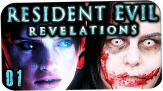 RESIDENT EVIL REVELATIONS Gameplay | Lets Play #01 - Zombie Gemetzel in Resident Evil Revelations