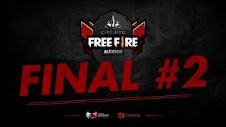 Playoffs - Finales #2 | Última Ronda | Circuito Free Fire México 2019