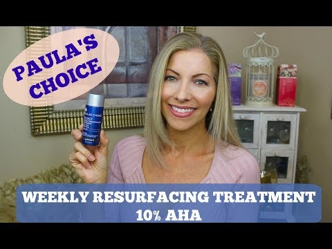 Skincare - Glycolic Acid for Younger Healthier Skin - Paula's Choice 10% AHA Weekly Resurfacing