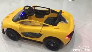 Xe ô tô điện trẻ em MCLaRen 672R - liên hệ mua 0909957191