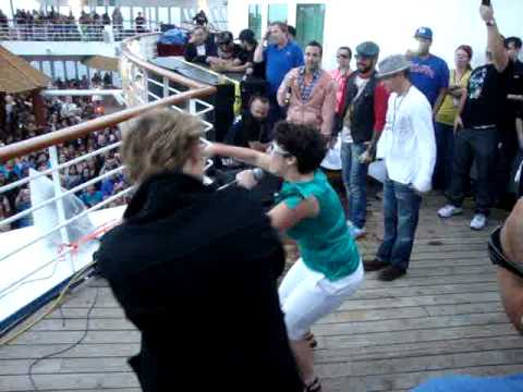 I Like Big Butts - Karaoke With BSB - Cruise 2011