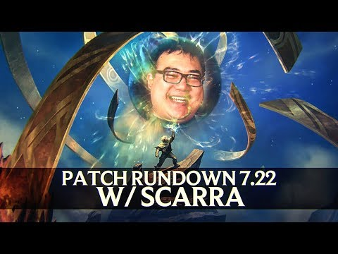 Patch Rundown 7.22 w/ Scarra [Pre-Season 8] + Zoe Review!