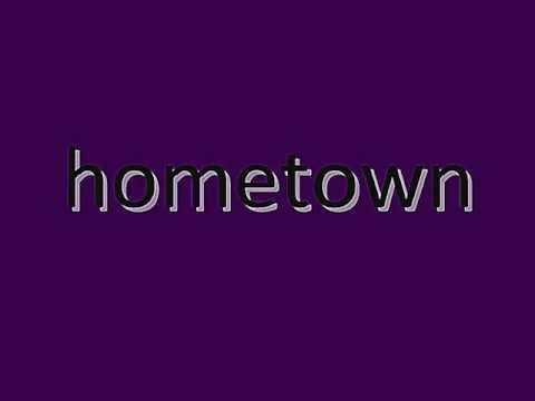 hometown - Andy Borrows (lyrics) HQ
