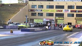TOP SPORTSMAN DRAG RACING ROUND 7 SYDNEY DRAGWAY 14.9.2014