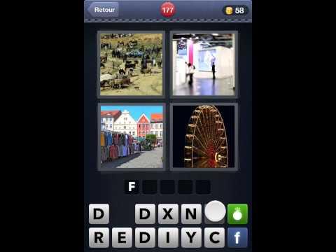 4 Images 1 Mot solutions niveaux 165 à 184