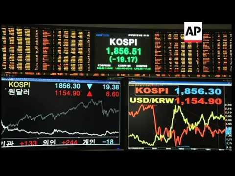 Asian markets open week lower following EU credit downgrades