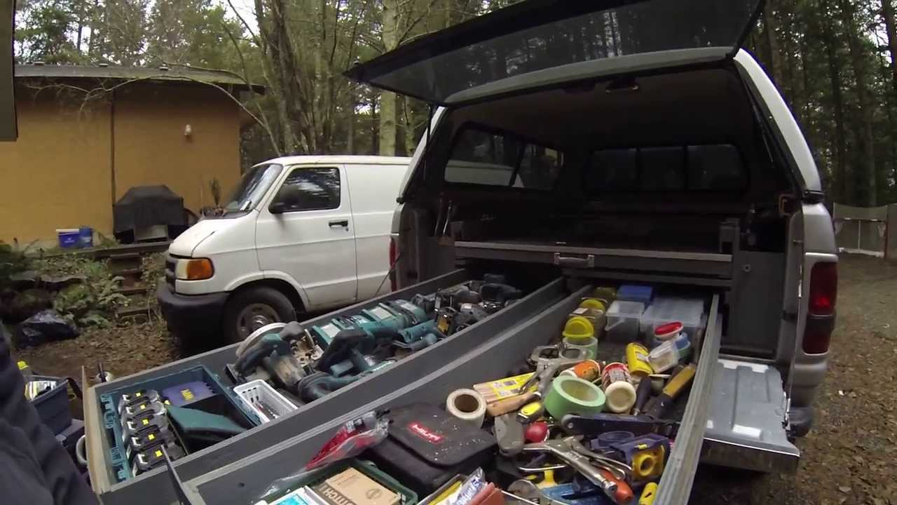 Home Made Truck Bedslide Youtube