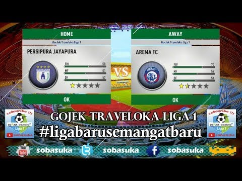LIVE STREAMING Persipura Jayapura VS Arema FC