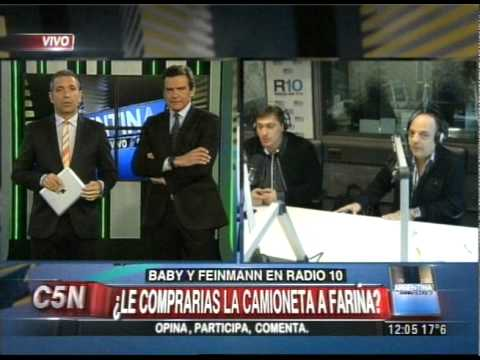 C5N - ARGENTINA EN VIVO: EDUARDO FEINMANN EN RADIO 10 AM 710