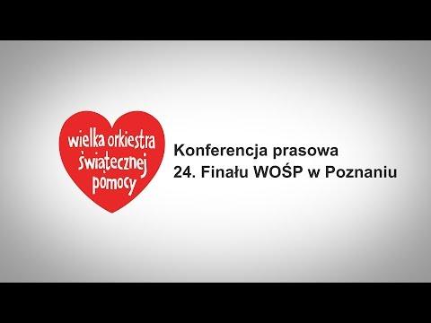 Konferencja Prasowa 24. Finału WOŚP W Poznaniu