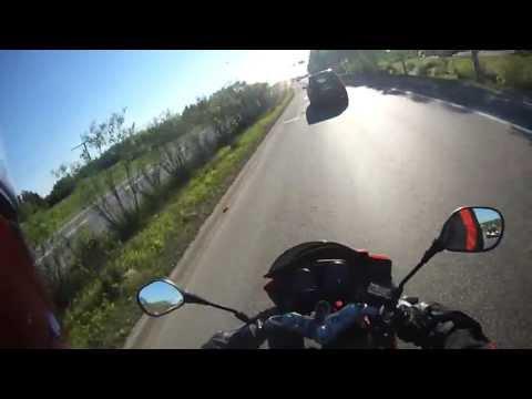Honda CBR 125R Top speed on highway
