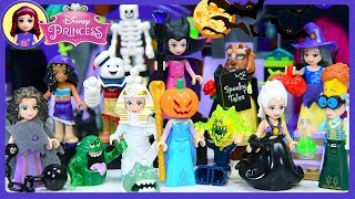 Download lagu Lego Disney Princess Scary Halloween Dress Up Costumes Kids Toys Silly Play
