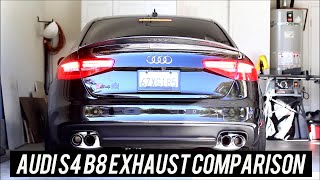 Audi S4 B8 Exhaust Comparison [Miltek,Capristo, Armytrix, etc]